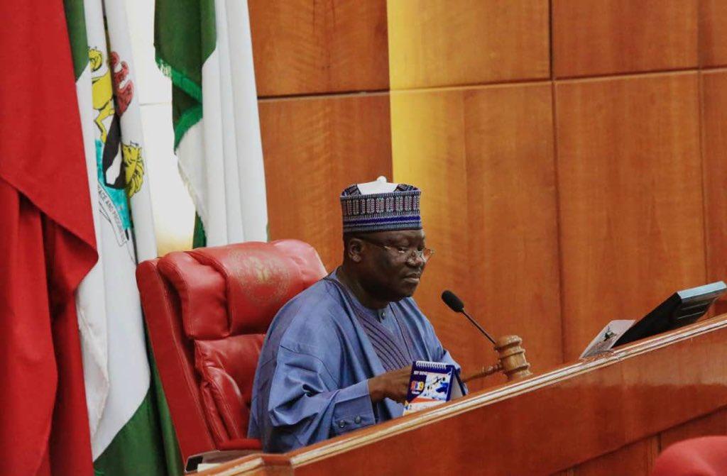 The Senate President, Hon. Ahmed Ibrahim Lawan