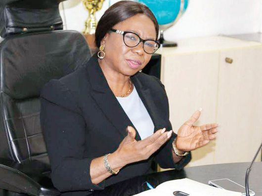 Acting Director General, SEC, Ms. Mary Uduk