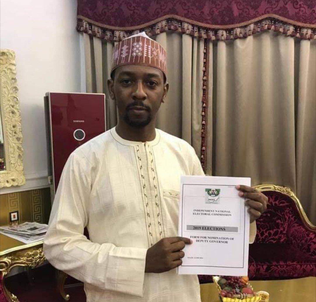 The Deputy Governor, Barrister Mahdi Aliyu Gusau of Zamfara State
