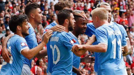 Manchester City beat Liverpool