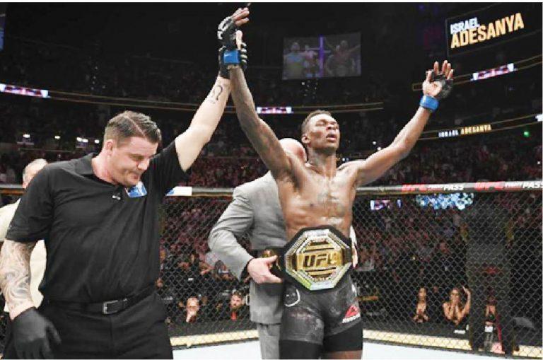 Israel Adesanya Knocks Out Robert Whittaker Now UFC
